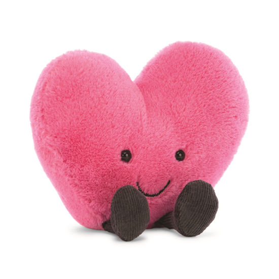 Amuseable Hot Pink Heart by Jellycat