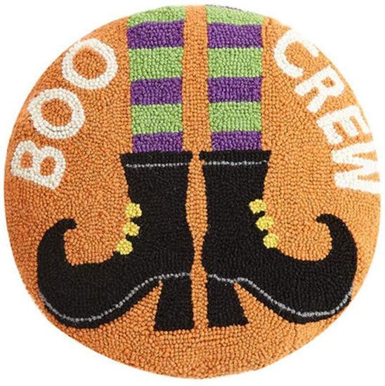 Boo Crew Round Pillow by Peking Handicraft