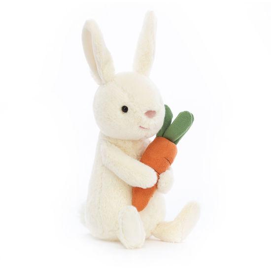 Bobbi Bunny with Carrot by Jellycat