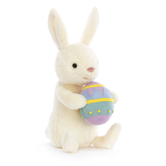 Bobbi Bunny with Easter Egg by Jellycat