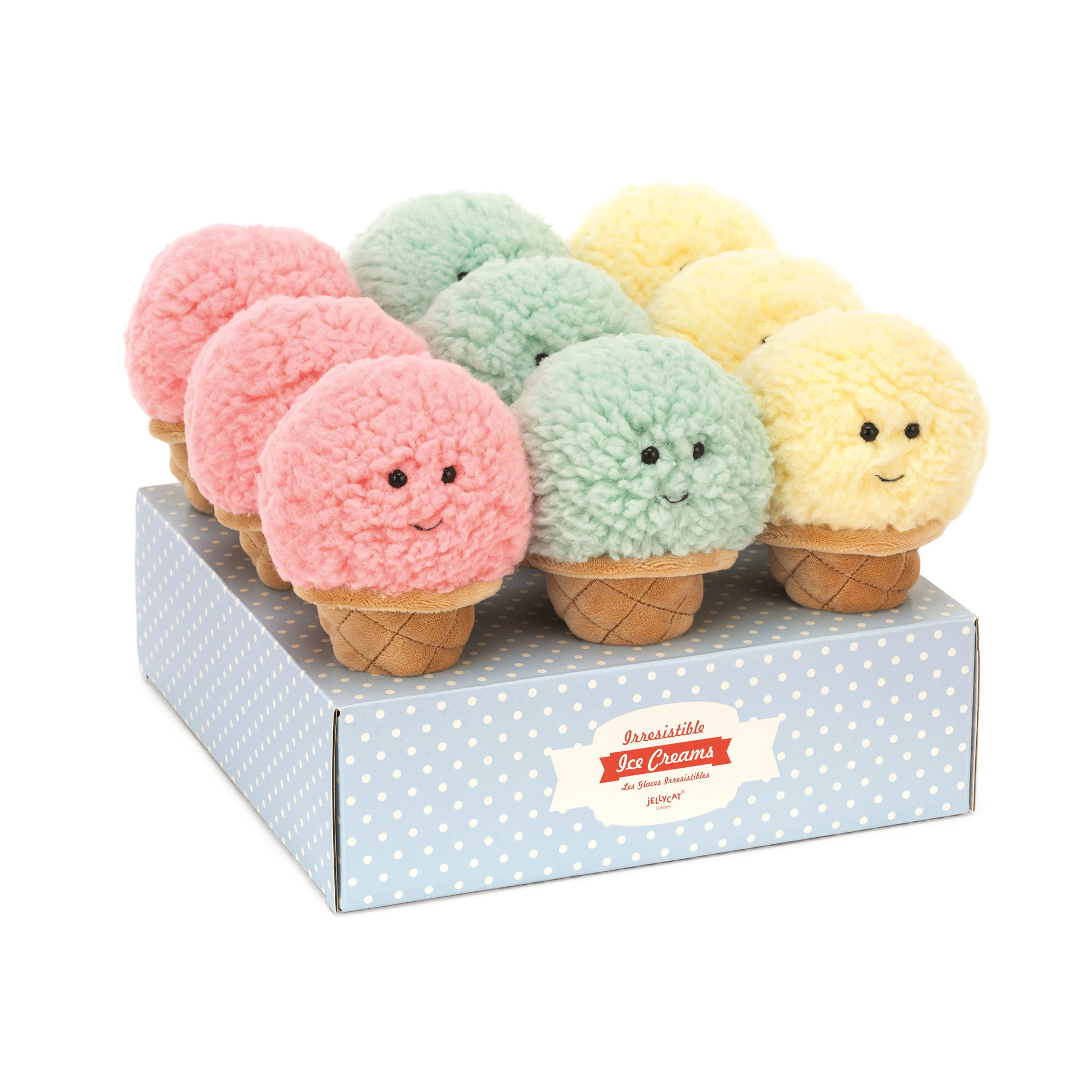 Irresistible Ice Cream (Assorted) by Jellycat