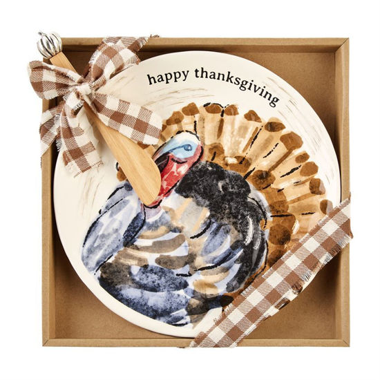 Turkey Thanksgiving Cheese Set by Mudpie