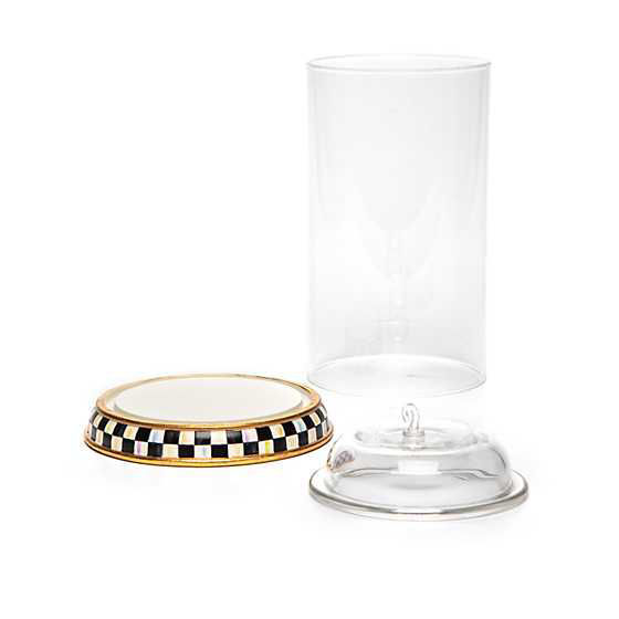 Courtly Check Glass Ornament Cloche by MacKenzie-Childs