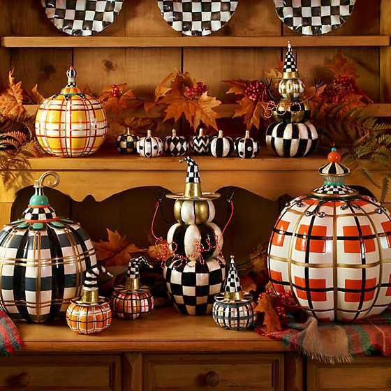 Boo Pumpkin Topiary by MacKenzie-Childs