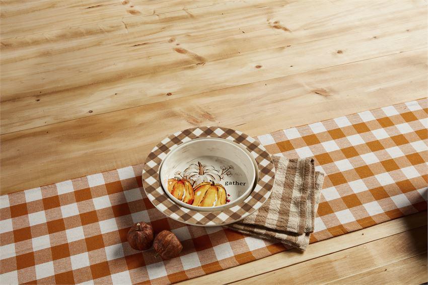 Pumpkin Baking Dish Set by Mudpie