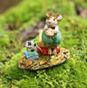 Snack Time M-612a (Green) by Wee Forest Folk®