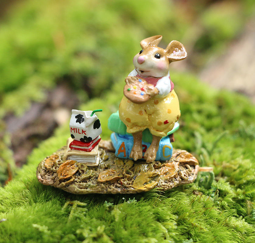 Snack Time M-612a (Yellow) by Wee Forest Folk®