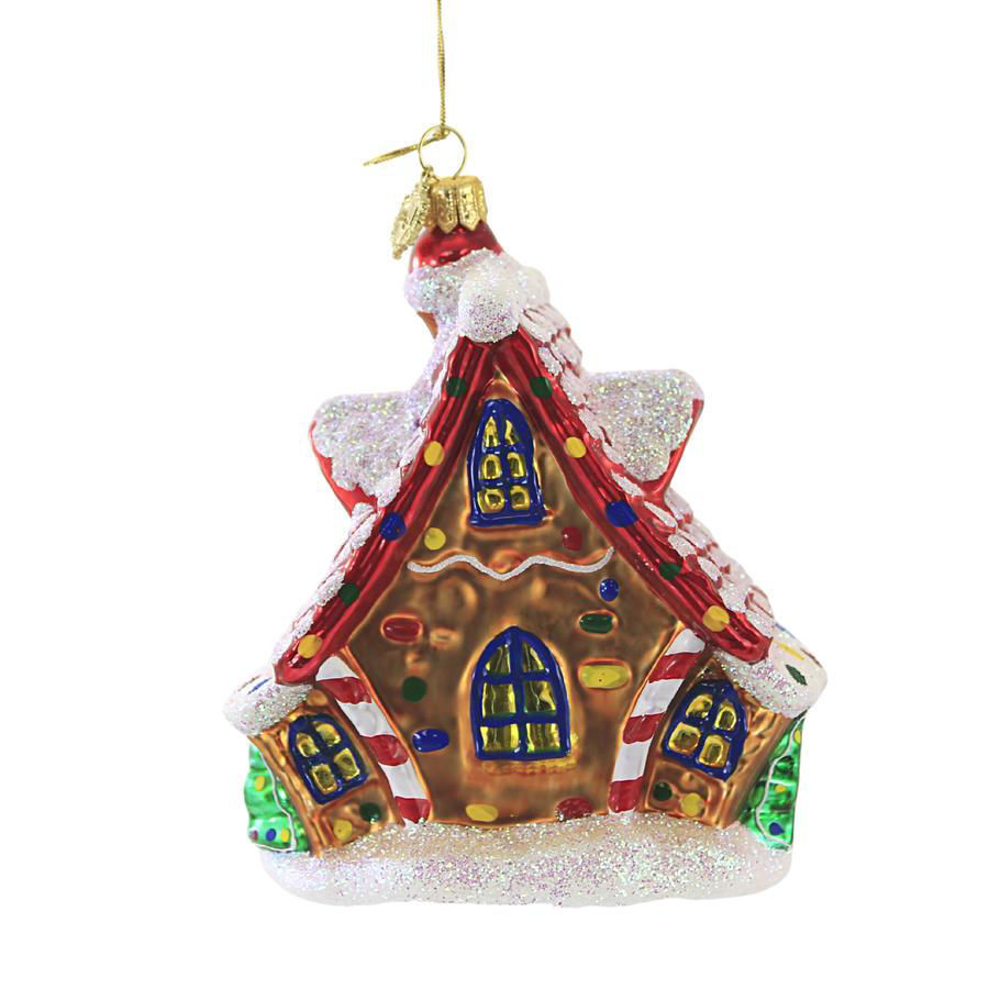 Gingerbread House Ornament by Huras Family