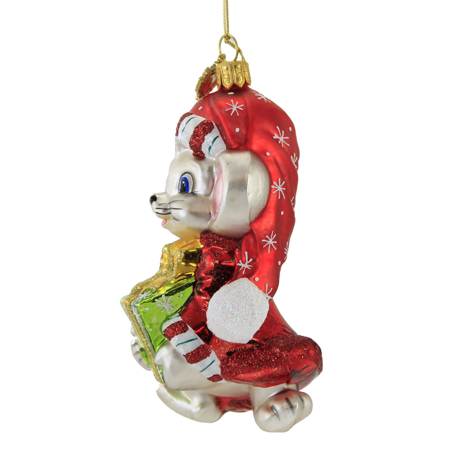 Christmas Mouse Ornament by Huras Family