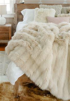Cape Fox Faux Fur Throw by Donna Salyers Fabulous Furs