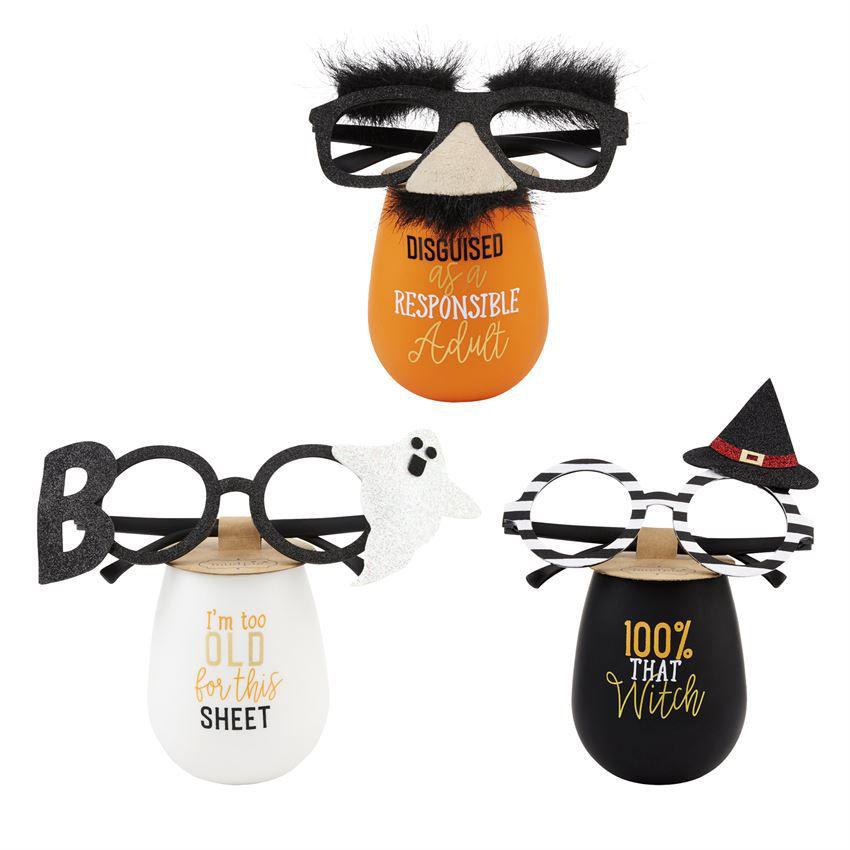 Costume Wine Glass & Spec Sets by Mudpie
