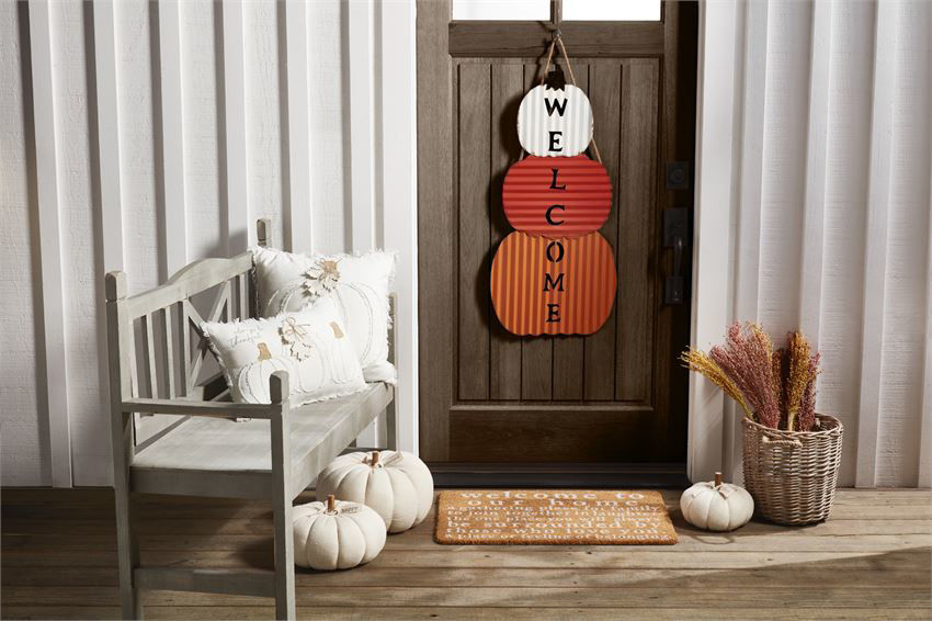 Welcome To Our Home Doormat by Mudpie