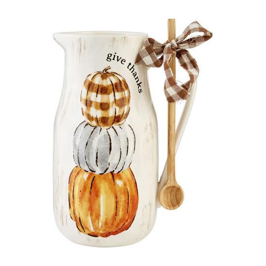 Pumpkin Pitcher Set by Mudpie