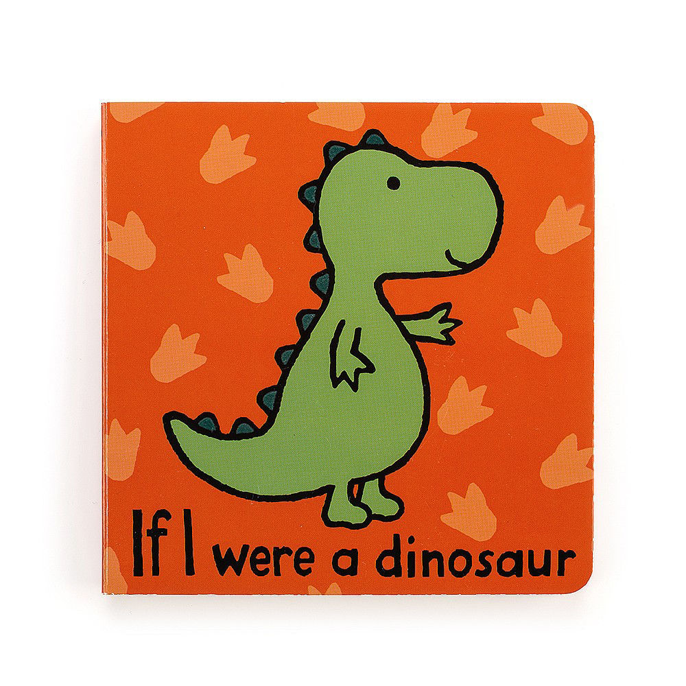 If I Were A Dinosaur Book by Jellycat