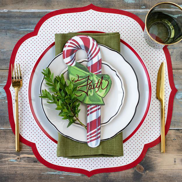 Candy Cane Table Accent by Hester & Cook