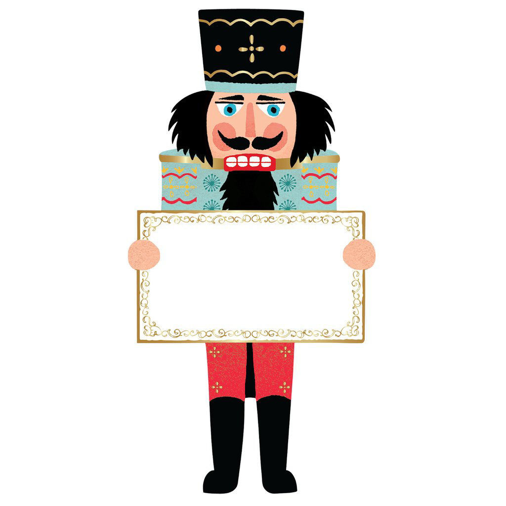 Nutcracker Table Accent by Hester & Cook