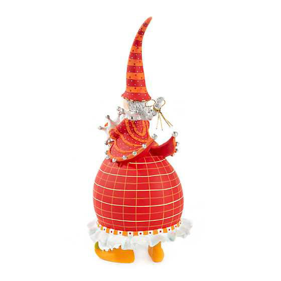 Dash Away Red Mrs. Santa Figure by Patience Brewster