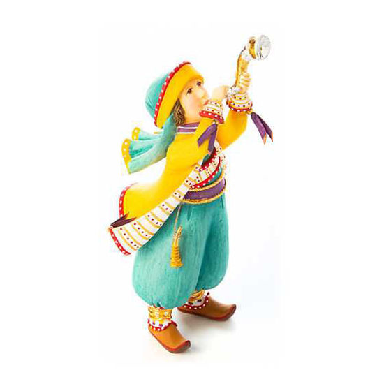 Nativity Shofar Player Figure by Patience Brewster
