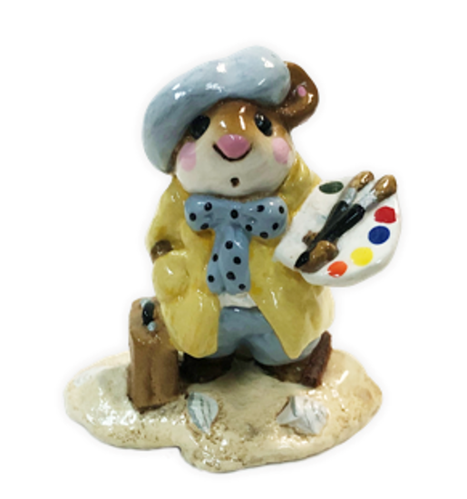 Arty Mouse M-071 (Yellow) By Wee Forest Folk®