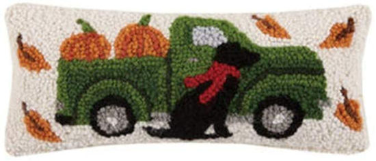 Fall Truck with Lab by Peking Handicraft