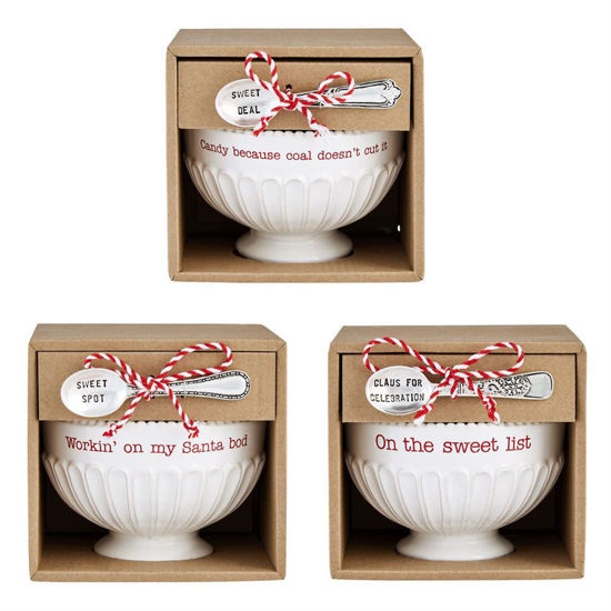 Candy Dish & Spoon Set by Mudpie