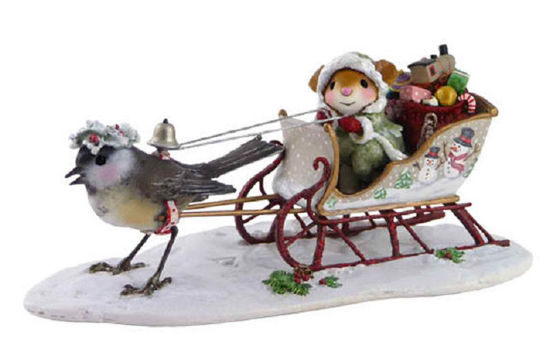 Santa's Christmas Tweets M-404a (Special) by Wee Forest Folk®