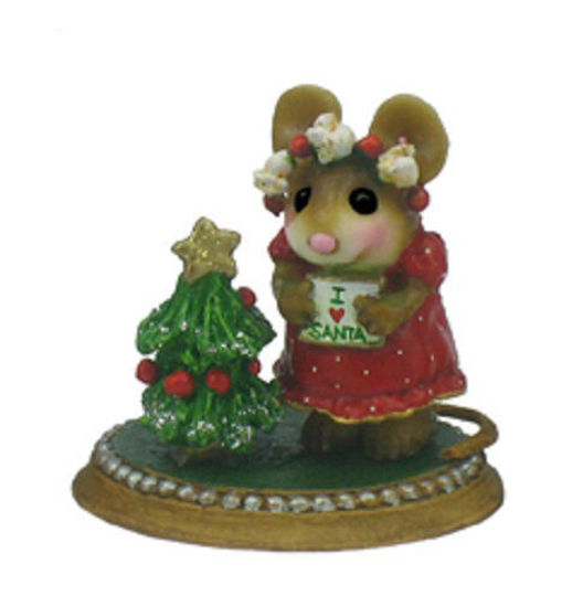Missy Loves Santa AH-08 (Red Special) by Wee Forest Folk®