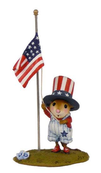 Raising the flag FB-5b by Wee Forest Folk®