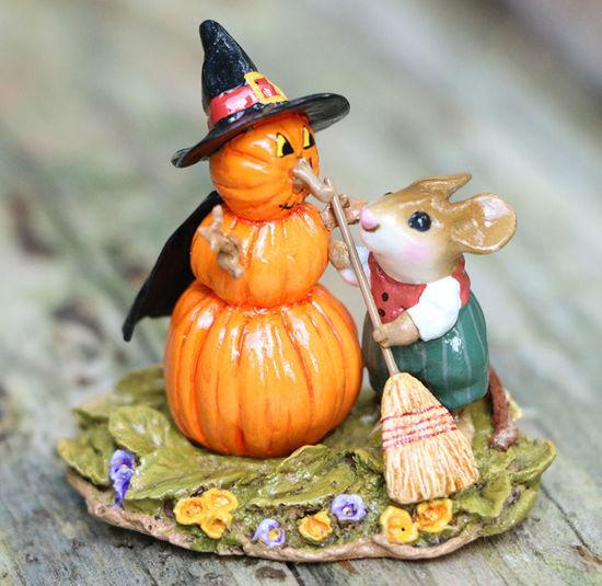 Pumpkin Snowman M-711 (Orange)  by Wee Forest Folk®