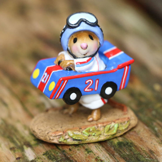 Mouse Racer M-710 Blue by Wee Forest Folk®