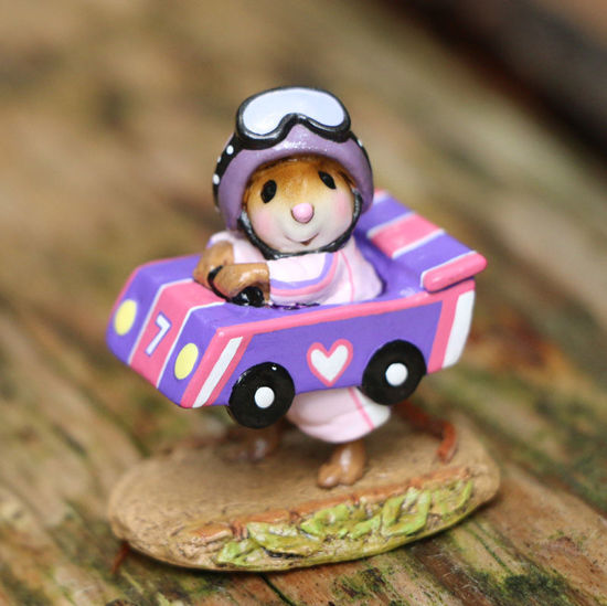 Mouse Racer M-710 Purple by Wee Forest Folk®