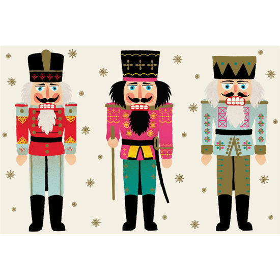 Nutcrackers Placemat by Hester & Cook