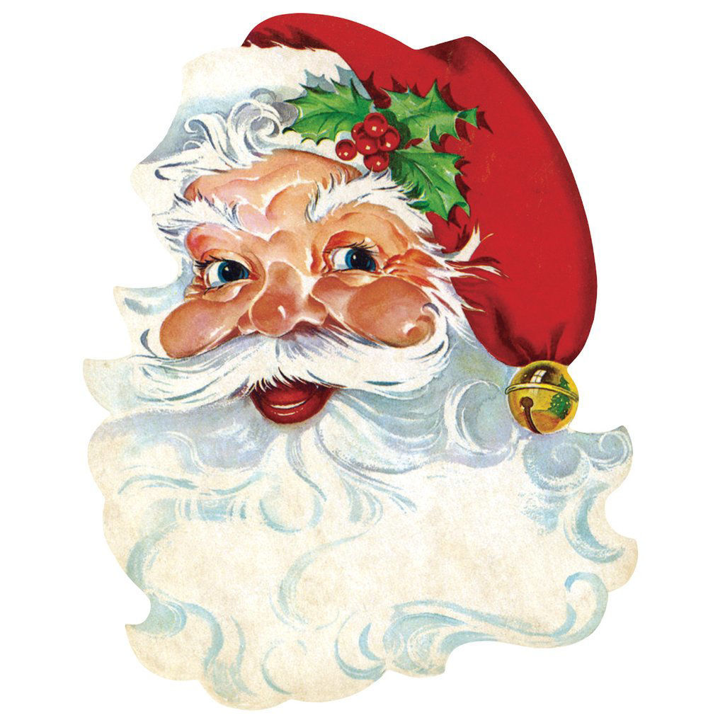 Die-Cut Santa Placemat by Hester & Cook
