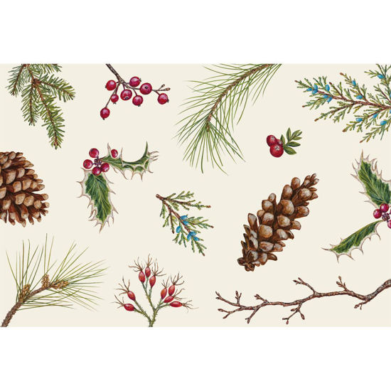 Winter Collage Placemat by Hester & Cook