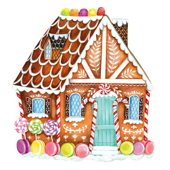 Die-Cut Gingerbread House Placemat by Hester & Cook