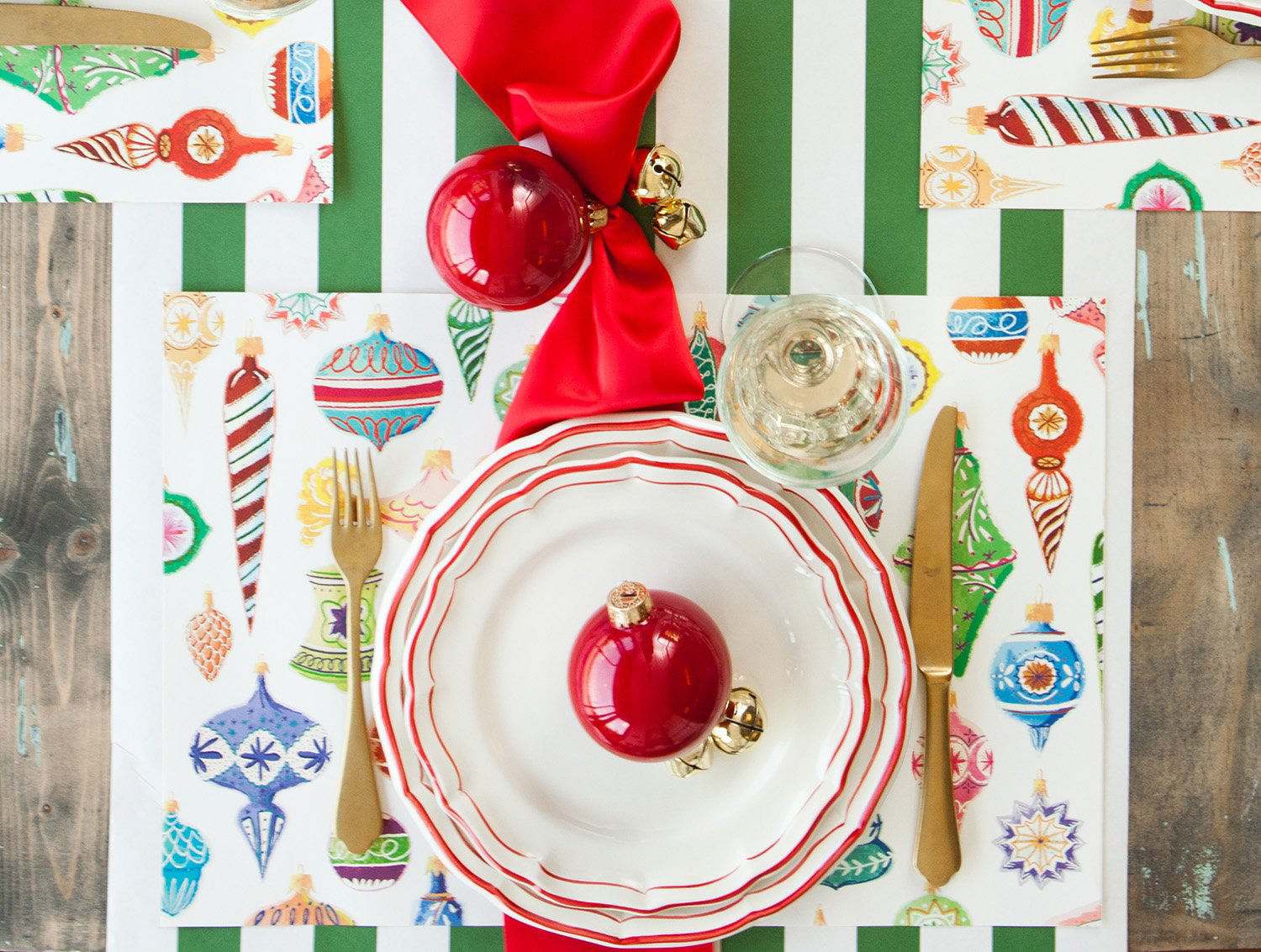 Ornaments Placemat by Hester & Cook