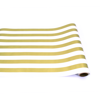 Gold Classic Stripe Runner by Hester & Cook