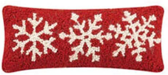 Snowflakes on Red by Peking Handicraft