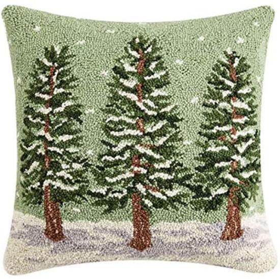 Winter Trees Pillow by Peking Handicraft