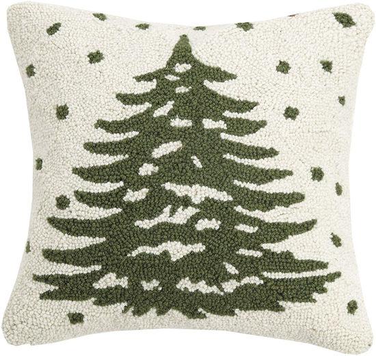 Christmas Tree Pillow by Peking Handicraft