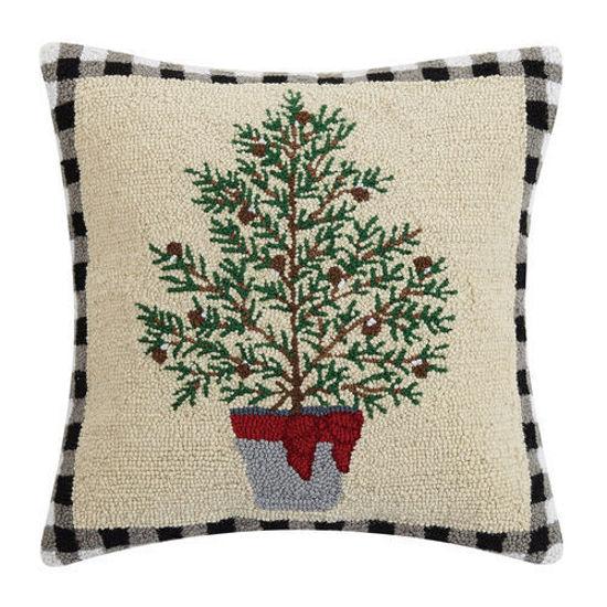 Balsam Winter Tree Pillow by Peking Handicraft