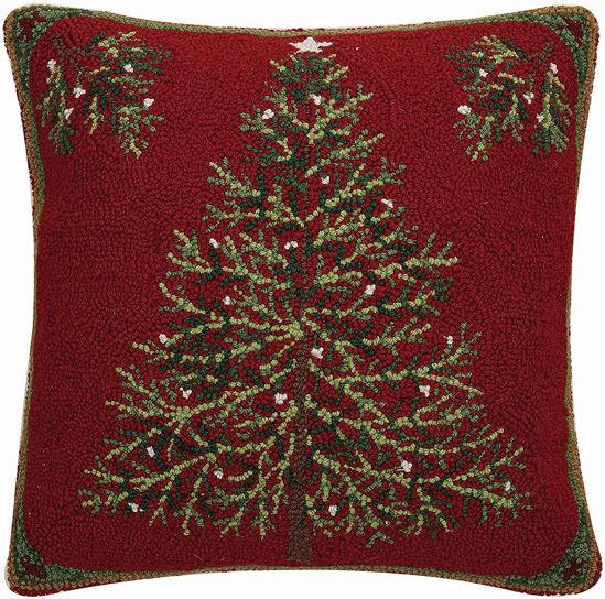 Holiday Pine Pillow by Peking Handicraft