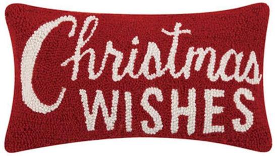 Christmas Wishes Pillow by Peking Handicraft