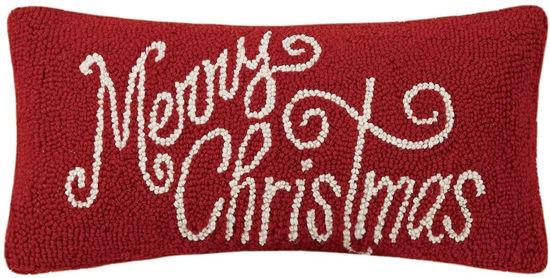 Merry Christmas Pillow by Peking Handicraft
