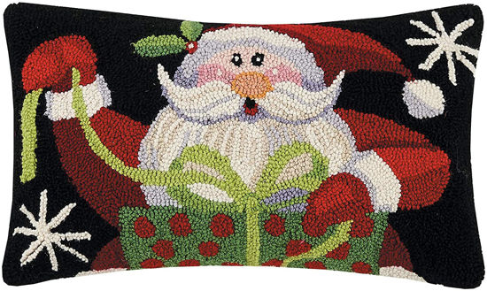 Santa's Gifts Pillow by Peking Handicraft