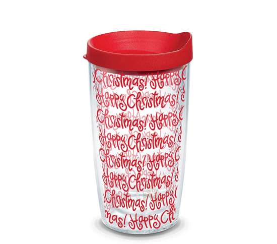 Happy Everything™ - Happy Christmas Wrap 16oz. Tumbler by Tervis