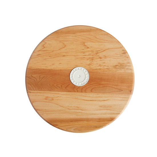 Maple Lazy Susan by Nora Fleming