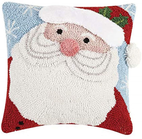 Jolly Santa with 3D Details by Peking Handicraft