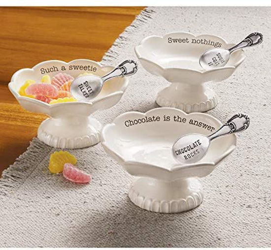 Circa Candy Dish by Mudpie