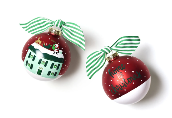 Home for Christmas Ornament by Coton Colors